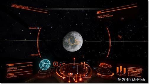 Der Mond der Erde
