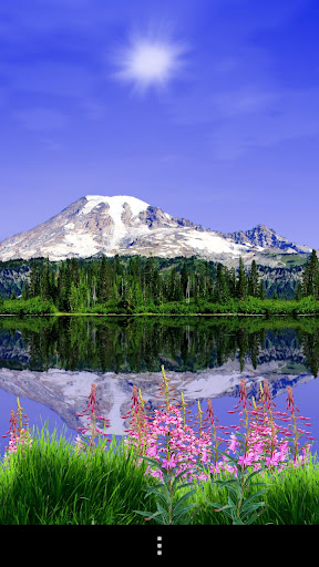 Mount Rainier Live Wallpaper