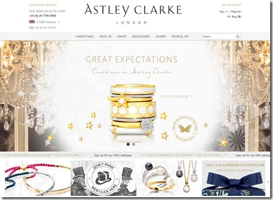 Astley Clarke Home Page