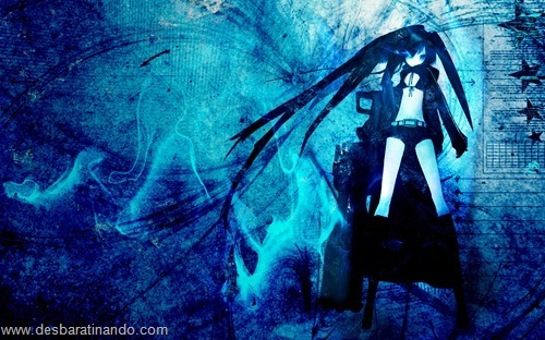 black rock shooter anime wallpapers papeis de parede download desbaratinando   (6)