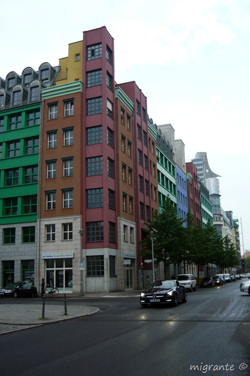 perspectiva esquina - aldo rossi en berlin