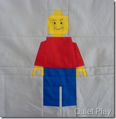 Red minifig