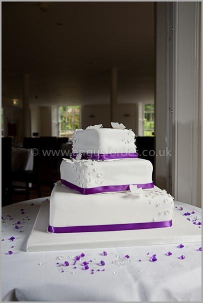 wedding cake scotland edinburgh