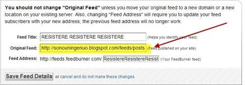 reindirizzamento-feedburner