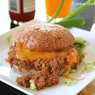 Indian Keema Sloppy Joes (w/ Seitan)