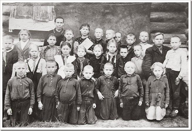 Ильтяковские школьники
