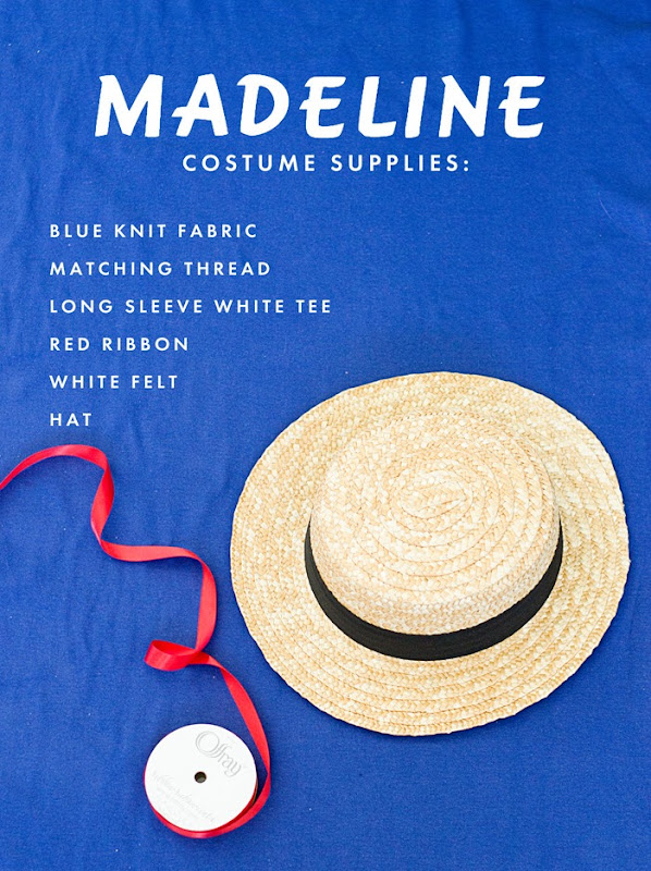 How to Make a Madeline Costume - Supplies and Tutorial