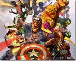 Orden Marvel Zombie por Arsenio