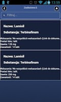Screenshot of Subsidized drugs (Polish)