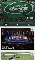 Screenshot of Official New York Jets