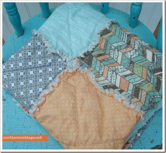 {Northern Cottage} cottage quilt