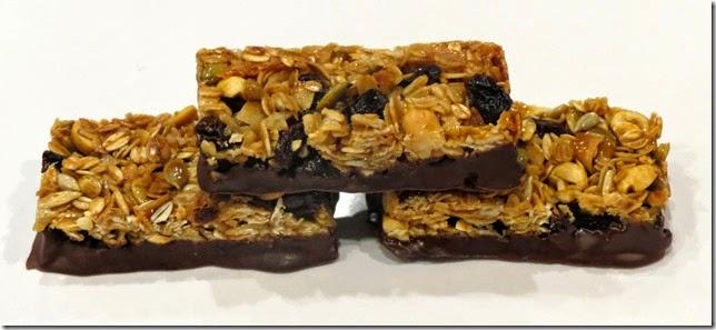 Granola Energy Bars, gluten free, refined sugar free