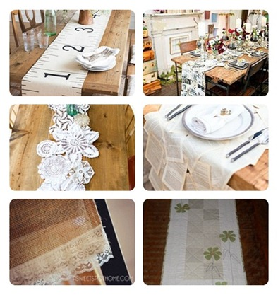 Tablecloth ideas