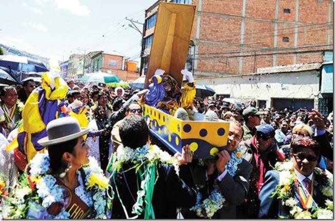 Carnaval en La Paz 2015
