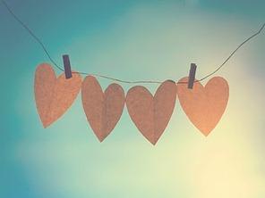 corações unidos