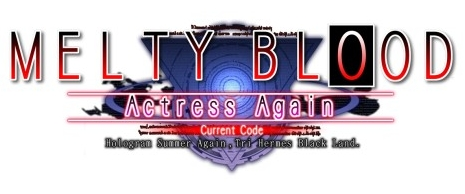 [PC][DD] Melty Blood Actress Again Current Code v1.1 [100% Funcional][Cracked] Mbaa_logo