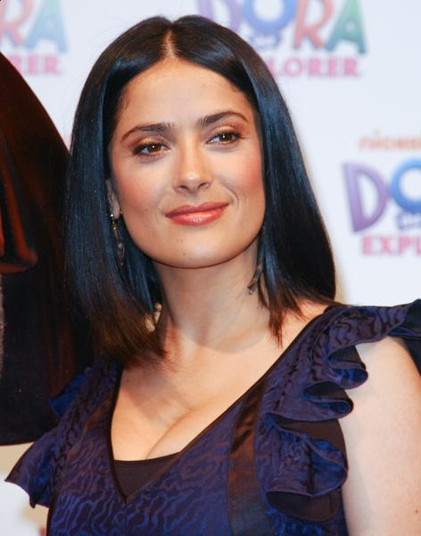 Modern Salma Hayek Hairstyles