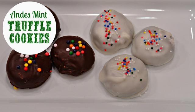 Andes Mint Truffle Cookies