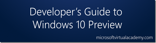 Windows10DevGuide