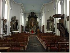 Geten (Jauche): De classicistische Sint-Martinuskerk uit 1763-1766