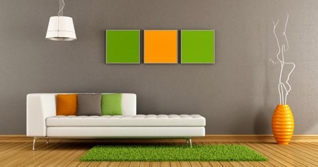 kesan dingin dan hangat yang ditimbulkan warna cat ruang tamu