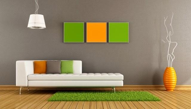warna cat ruang tamu 2014