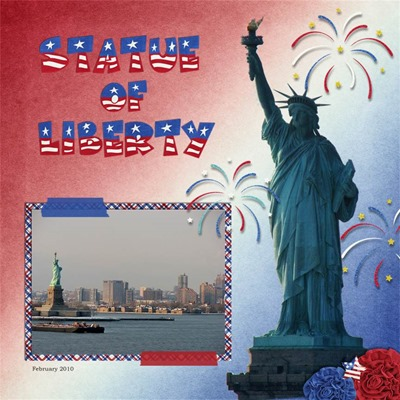 Leaving a Legacy Designs - American BBQ - Statue of Liberty