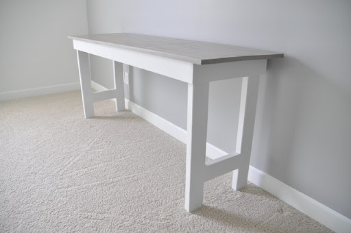 Delightful DIY Sewing Table