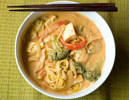 3curry noodles
