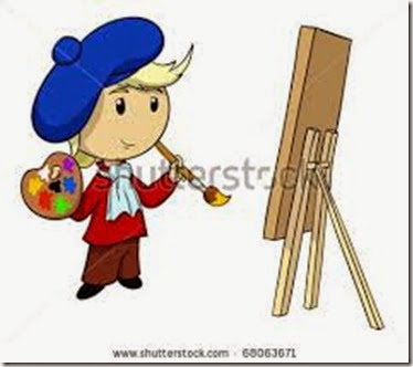 stock-vector-vector-illustration-cartoon-artist-in-beret-with-palette-and-brush-68063671
