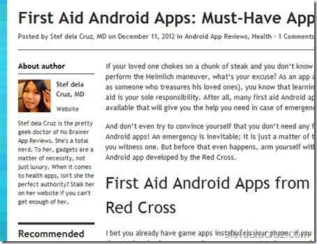 Stef dela Cruz tech blogger