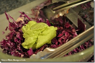 Tomatillo-Avocado Slaw