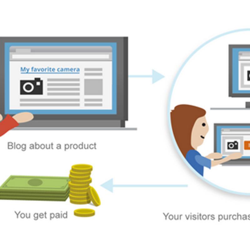 Kiếm tiền với Blogger bằng chương trình Google Affiliate Ads