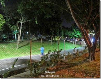 沙巴亞庇丹容亞路海灘夕陽 Perdana Park音樂水舞 (32)