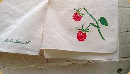 Raspberry Tea Towels