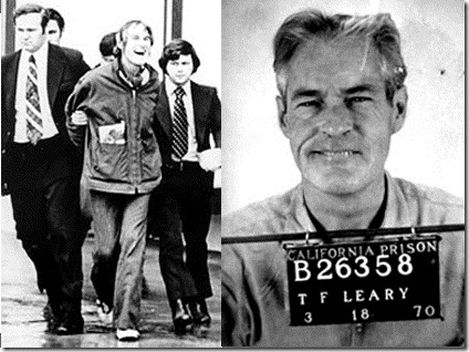 Tim Leary Arrested
