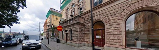Exterior Shot of Galleri Magnus Karlsson