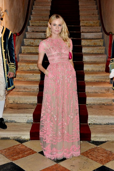 Diane Kruger de Valentino
