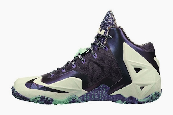 Nike LeBron 11 8220Gator King8221 AllStar 8211 Catalog Images
