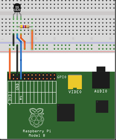 Raspberry Pi 1- Wire Digital Thermometer Sensor