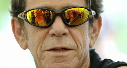Lou Reed backstage at the Isle of Wight Festival at Seaclose Park in Newport. PRESS ASSOCIATION Photo. Picture date: Sunday 11 June 2006. Photo credit should read:Yui Mok/PA
