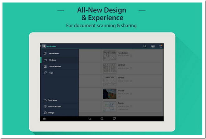 Download CamScanner Phone PDF Creator 3.0.0.20 Apk Direct Link