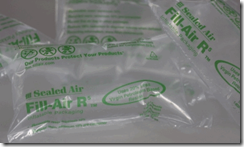 Sealed air uses cardia bioplastics