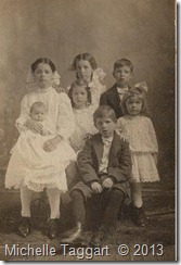 Edgar Howell and Ollie's children