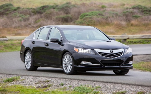 2014-Acura-RLX-front-three-quarter-in-motion