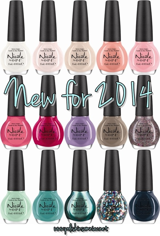 Nicole by OPI - New for 2014