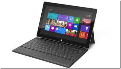 Surface - Tablet com Windows 8 será vendido por a partir de US$ 600