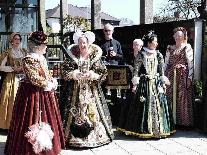 Стратфорд-на-Эйвоне, день рождения Шекспира