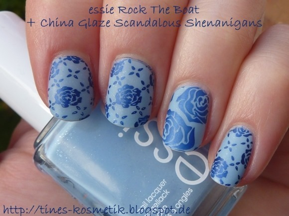 essie Rock The Boat Stamping 1
