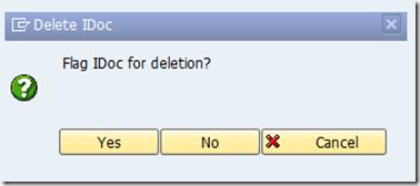 How to Delete IDocs